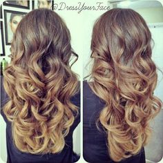 Balayage Ombre Layers - Hairstyles and Beauty Tips