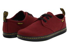 Dr. Martens Soho Cherry Red Canvas - Zappos.com Free Shipping BOTH Ways