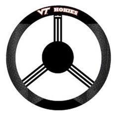 Virginia Tech Hokies NCAA Mesh Steering Wheel Cover