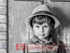 Too cool for school. #RedRockICT #Wichita #Boysphotography #Studioposes #Studiophotography #Fiveyearolds #Hatphotography