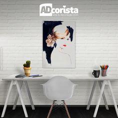 Quer dar um toque de originalidade à sua casa? Quadro decorativo é uma das opções para isso! Nossa dica é: alinhe-os em uma parede atrás de sofá ou cama, ou centralize-o atrás de uma mesa ou outro móvel baixo. Assim, você consegue acrescentar outros objetos na decoração <3 Venha escolher o seu quadro conosco! Acesse o link da bio #adcorista #quadro #decoração #decor