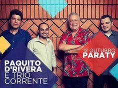 """O saxofonista e clarinetista cubano Paquito D'Rivera e o destaque do jazz brasileiro Trio Corrente apresentam no MIMO em Paraty o concerto do premiado """"Song for Maura"""". #FestivalMIMO #MIMO2014 #MovimentoMIMO #FestivalMIMODeCinema #FestivalDeCinema #FestivalDeMúsica #música #cinema #EtapaEducacionalMIMO #MIMO #PaquitoDRivera #Paraty #PousadaDoCareca #TrioCorrente"""