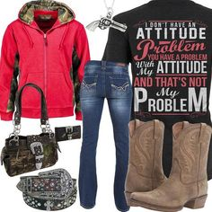Country Western Outfits, Country Style Outfits, Western Style, Camo Girl Outfits, Curvy Outfits, Jean Outfits, Girl Clothing, Country Life