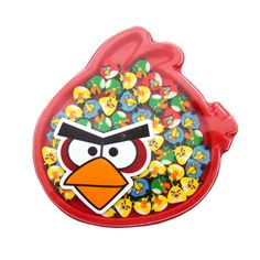 set of 50pcs Angry Bird Mini Erasers