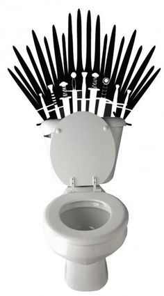 Game of Thrones Toilet Decal | Geek Decor