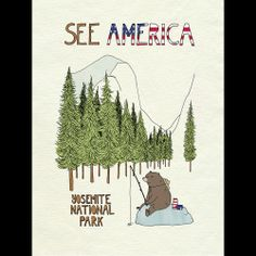 Yosemite National Park by Naomi Sloman  #SeeAmerica