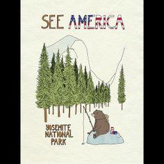 Yosemite National Park by Naomi Sloman  #SeeAmerica
