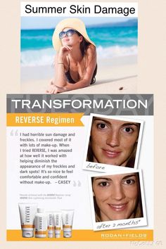 Although Scott loves to refer to it as Taco Tuesday, I'm calling it TRANSFORMATION Tuesday! Summers almost over so it's time to REVERSE all that unwanted sun damage! Try our reverse regimen (retail $179.00) or our Reverse Skin Lightening Accelerator pack (retail $99.00). Preferred Customers receive 10% off! Wipe the slate clean and start the new season looking beautiful!  https://nancykalisch.myrandf.com/Shop/Reverse