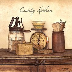 Country+Kitchen+-+square primitive home primitive furniture primitive signs primitive curtains primitive ideas