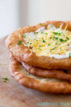 Hongaarse Lángos, dé snack die je moet proeven! | www.deedylicious.nl