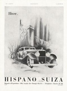 Hispano Suiza 1935 René Ravo