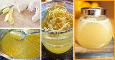 Faça o delicioso mel de gengibre e tenha um forte impulso na sua imunidade | Cura pela Natureza