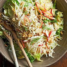 Apple, Celery Root, and Fennel Salad From Better Homes and Gardens, ideas and improvement projects for your home and garden plus recipes and entertaining ideas.
