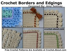 Crochet Edgings for Your Baby Blankets with These Free Patterns: