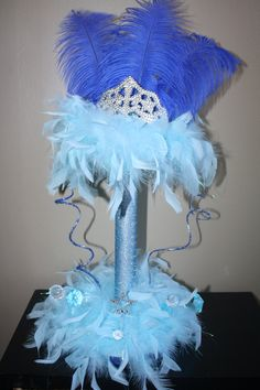 Quinceanera Sweet 15 Sweet 16 centerpiece by Maylin201 on Etsy, $50.00