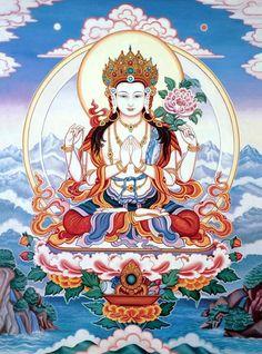 Loving Eyes #buddha (Chenresig, Avalokiteshwara)
