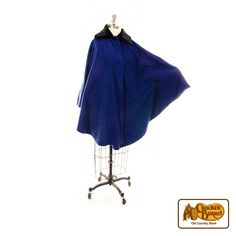 Our lovely, warm women's wrap is perfect for the cooler months. It features a lovely royal blue hue with a black faux fur collar.  Answer fun questions and you could win in the Cracker Barrel Old Country Store Pick it to Win it Sweepstakes. Start 'picking' your answers at crackerbarrel.com/win (ends Jan 2, 2013).
