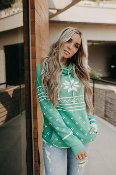 DoubleHood™ Sweatshirt - 'Tis the Season – Mindy Mae's Market