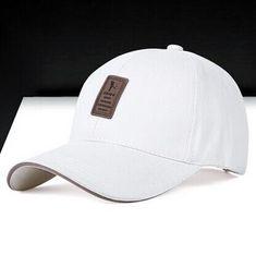 5e3ec32a32e Golf Snap-back Cotton Baseball Cap Simple Solid Hats For Men Sports Caps
