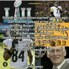 National Football League-Pittsburgh Steelers-Antonio Brown-Ben Roethlisberger-Dan Rooney | IT ALL MAKES SENCE!