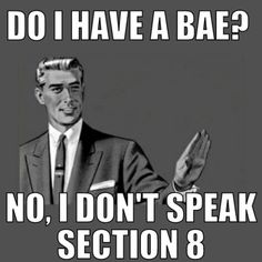 LMAO I have no idea what BAE is....