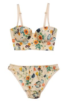 stella mccartney does the vintage swimsuit vibe oh so well