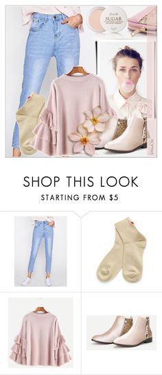 """Romwe 3/ 10"" by emina-095 ❤ liked on Polyvore featuring Fresh, romwe, shop, woman and polyvoreeditorial"