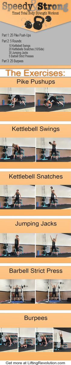 Total Body Strength Workout #workout #strength