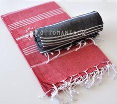 Bath Sheet 2 Pcs Turkish Bath Baby Towel Throw by Ottomaniacs, $36.95