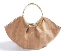 Rafia bag, gold  coming soon...