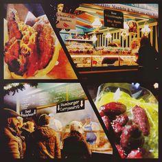 A rather calorific travel day   #travel #christmas #market #munich #germany #deutschland #wanderlust #travelgram #foodstagram #foodcation #streetfood