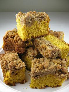 NY Style Pumpkin Crumb Cake by Vanilla Sugar Blog, via Flickr