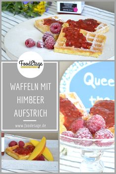 #himbeeraufstrich #waffelnmithimbeeren French Toast, Breakfast, Food, Spreads, Waffles, Yogurt, Raspberries, Morning Coffee, Meal