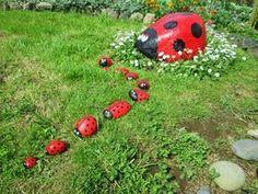 × The design with the high-class bonsa… Garden Yard Ideas, Garden Crafts, Lawn And Garden, Garden Projects, Garden Tools, Stone Crafts, Rock Crafts, Garden Mushrooms, Rock Painting Designs