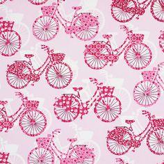 Cotton Bike Be Happy 3 - Cotton - pink
