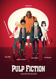 Pulp fiction movies & tv shows movie posters, alternative mo Old Posters, Best Movie Posters, Minimal Movie Posters, Movie Poster Art, Quentin Tarantino, Tarantino Films, Pulp Fiction, Fiction Movies, Films Cinema
