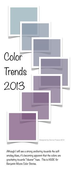 "The colors are getting ""cleaner"" for 2013. #color"