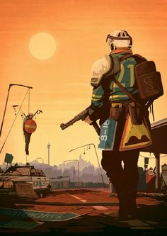 Post with 2534 votes and 7582 views. Apocalypse World, Apocalypse Art, Apocalypse Survival, Fallout Art, Fallout New Vegas, Character Art, Character Design, Post Apocalyptic Art, Zombies