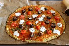 pizza masa coliflor