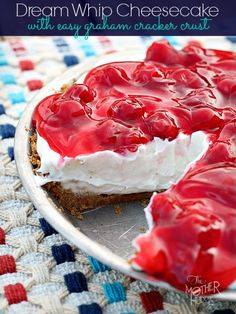 Dream Whip Cheesecake with Easy Graham Cracker Crust