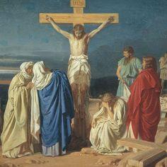 Evgraf Semenovich Sorokin - Crucifixion