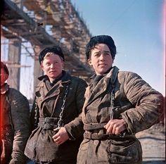 Повседневная жизнь СССР 1950-х в цвете / Назад в СССР / Back in USSR