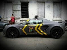 Indonesian police. super car