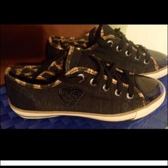 Super cute Brighton Safari sneakers. Like new. Worn once.  So disappointed. Too small for me. Brighton Shoes Sneakers