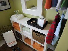 Small Bathroom Storage Ideas >> http://www.diynetwork.com/bathroom/small-bathroom-storage-solutions/pictures/index.html?soc=pinterest#
