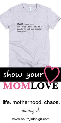 For the love of mamas! Thanks for all you do!