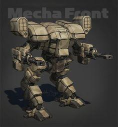 NorAm Heavy Mecha - Wolverine