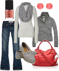 """""""pops of pink"""" by htotheb on Polyvore"""