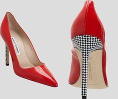 Stiletto? Tabitha Simmons and Manolo Blahnik #manoloblahnikheelsladiesshoes #manoloblahnikheelsstilettos