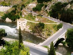 LIKED THE VORTEX IN THE RIVER , GREAT VIEW IN TOLEDO, SPAIN